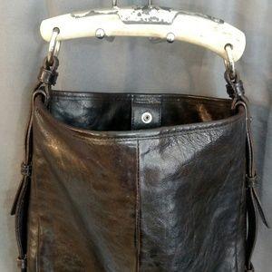 Yves Saint Laurent Bags - Yves Saint Laurent Tom Ford Faux Bone Handle Bag